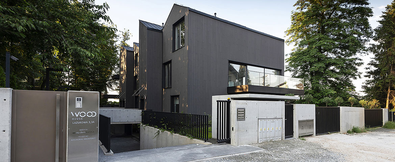 Budynek mieszkalny jednorodzinny - Wood House