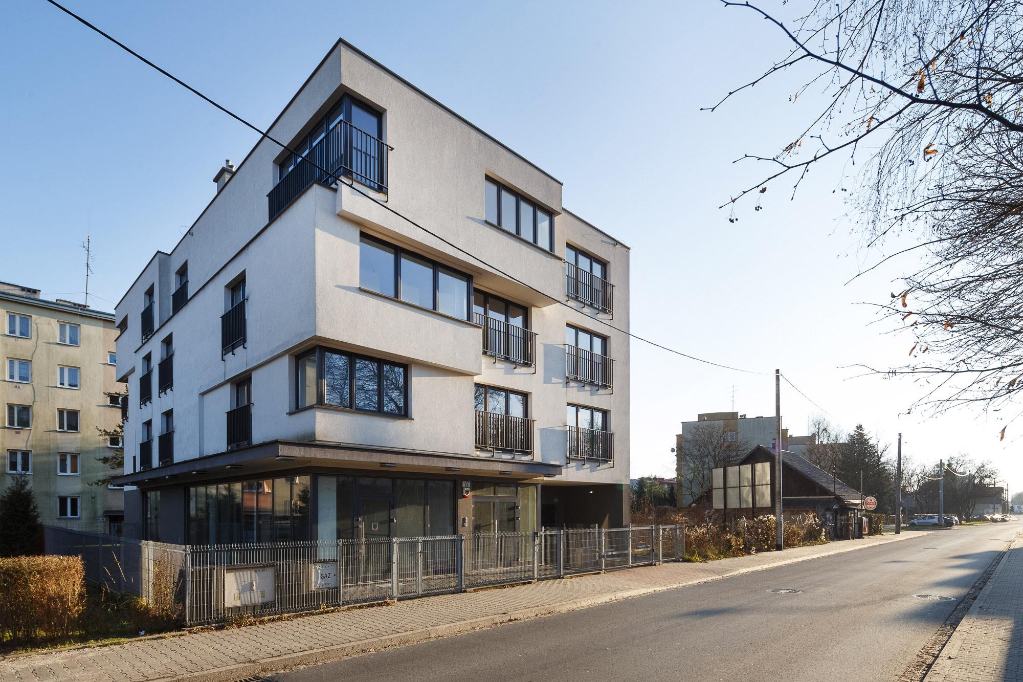Budynek mieszkalno-usługowy