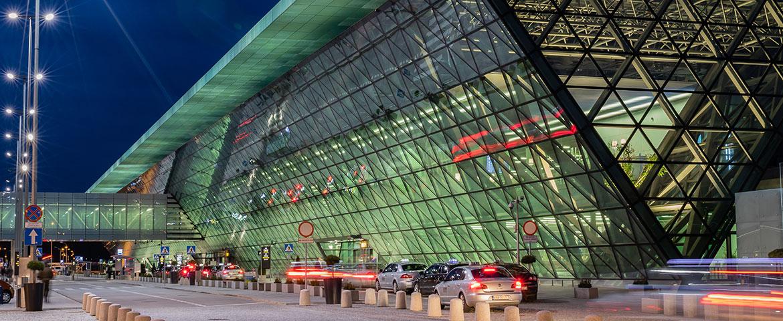 Terminal pasażerski T4 Międzynarodowy Port Lotniczy im. Jana Pawła II Kraków-Balice