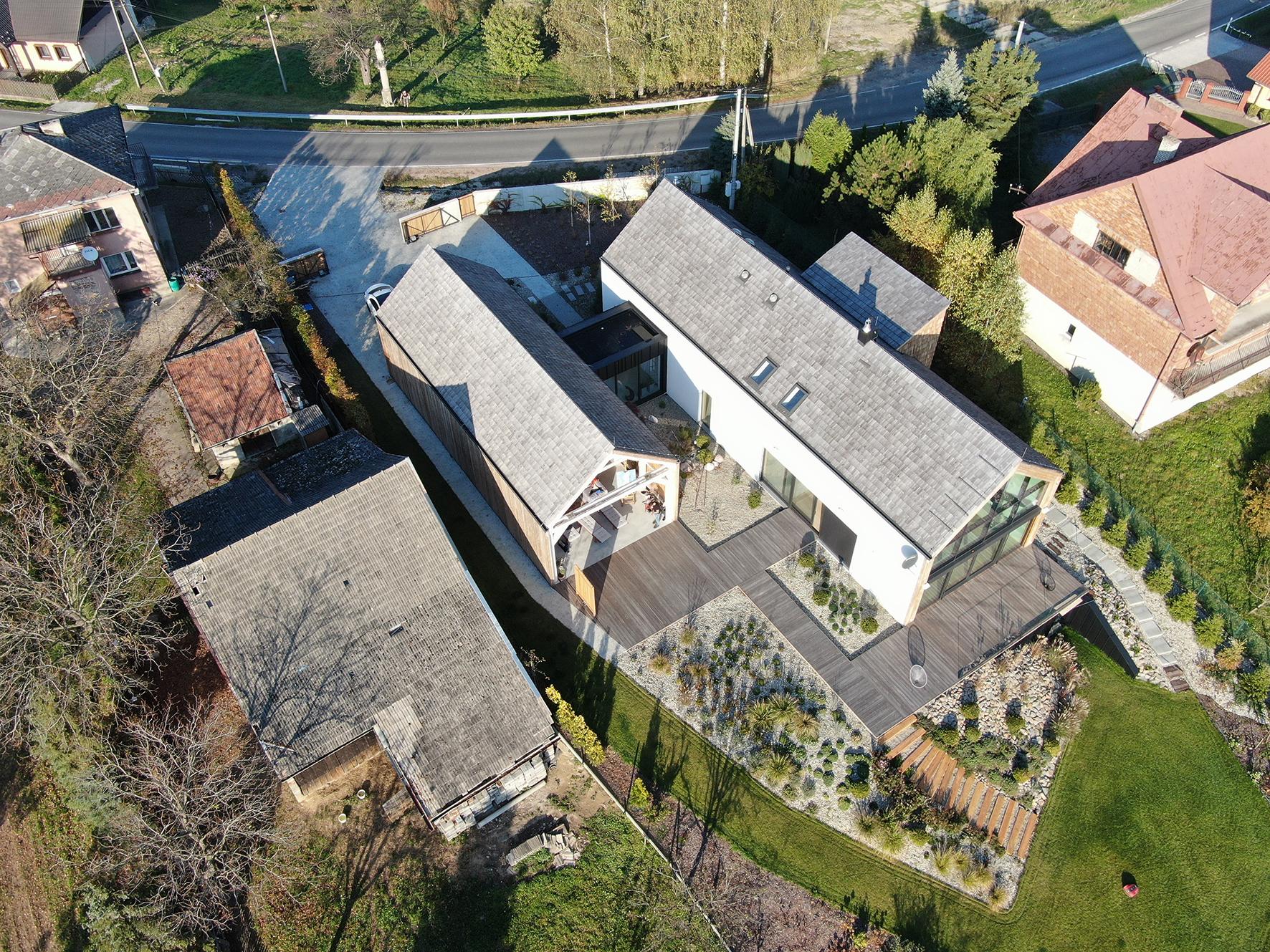 Dom jednorodzinny na obszarze wiejskim w Bochni