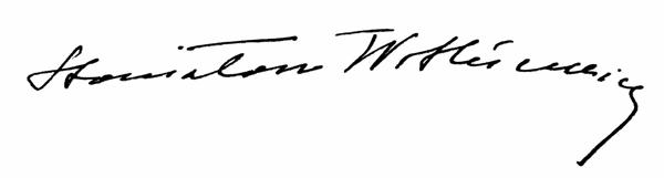 Autograf Stanisława Witkiewicza